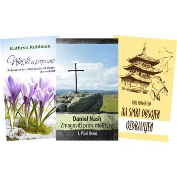 Komplet knjižic - Daniel Nash, Nikoli ni prepozno in Na smrt obsojen, ozdravljen