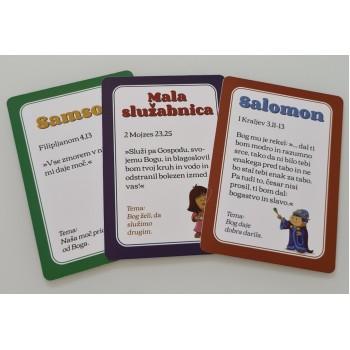 Svetopisemski citati na karticah - Nepozaben zaklad