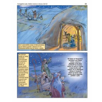 Sveto pismo v stripu 2 - Dobra novica o Jezusu