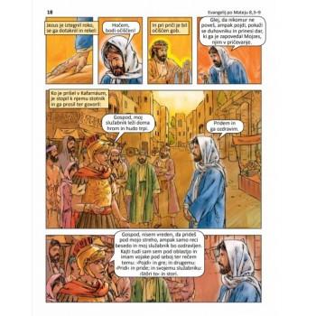 Sveto pismo v stripu 3. del: Odkrivajmo nebeško kraljestvo