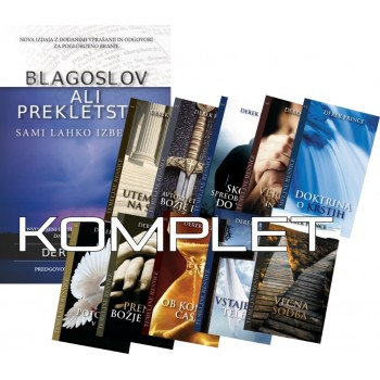Komplet Derek Prince - Blagoslov ali prekletstvo, razširjena izdaja in Temeljne resnice 1-10