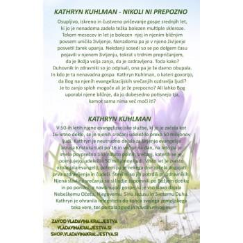 Kathryn Kuhlman - Nikoli ni prepozno, E-knjiga