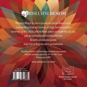 Prisluhni Besedi CD mp3, sveto pismo v audio (zvočnem) formatu